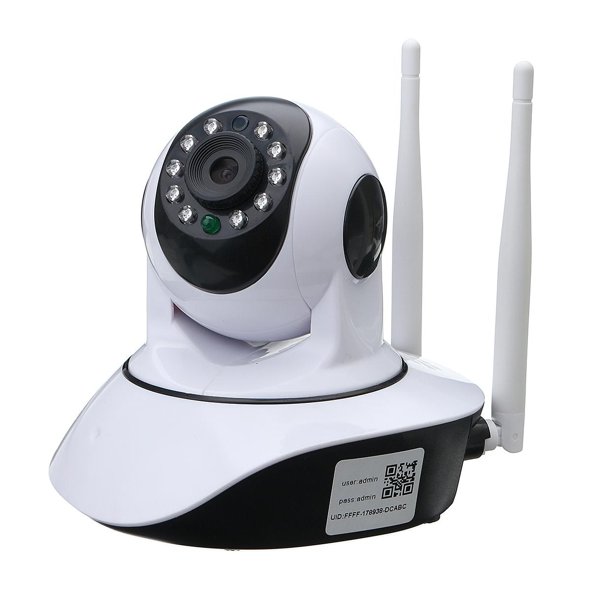 720P Wireless IP Camera Security Network CCTV Camera Pan Tilt Night Vision WIFI Webcam