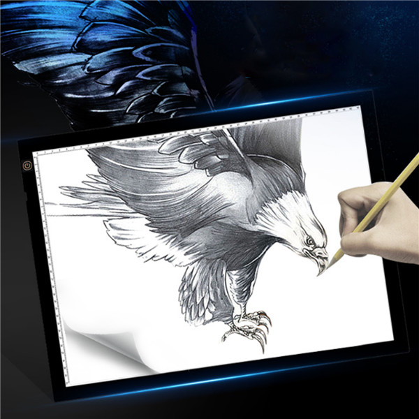 USB LED Touch Dimming Animation Linyi Writing Tablet Painting Toys