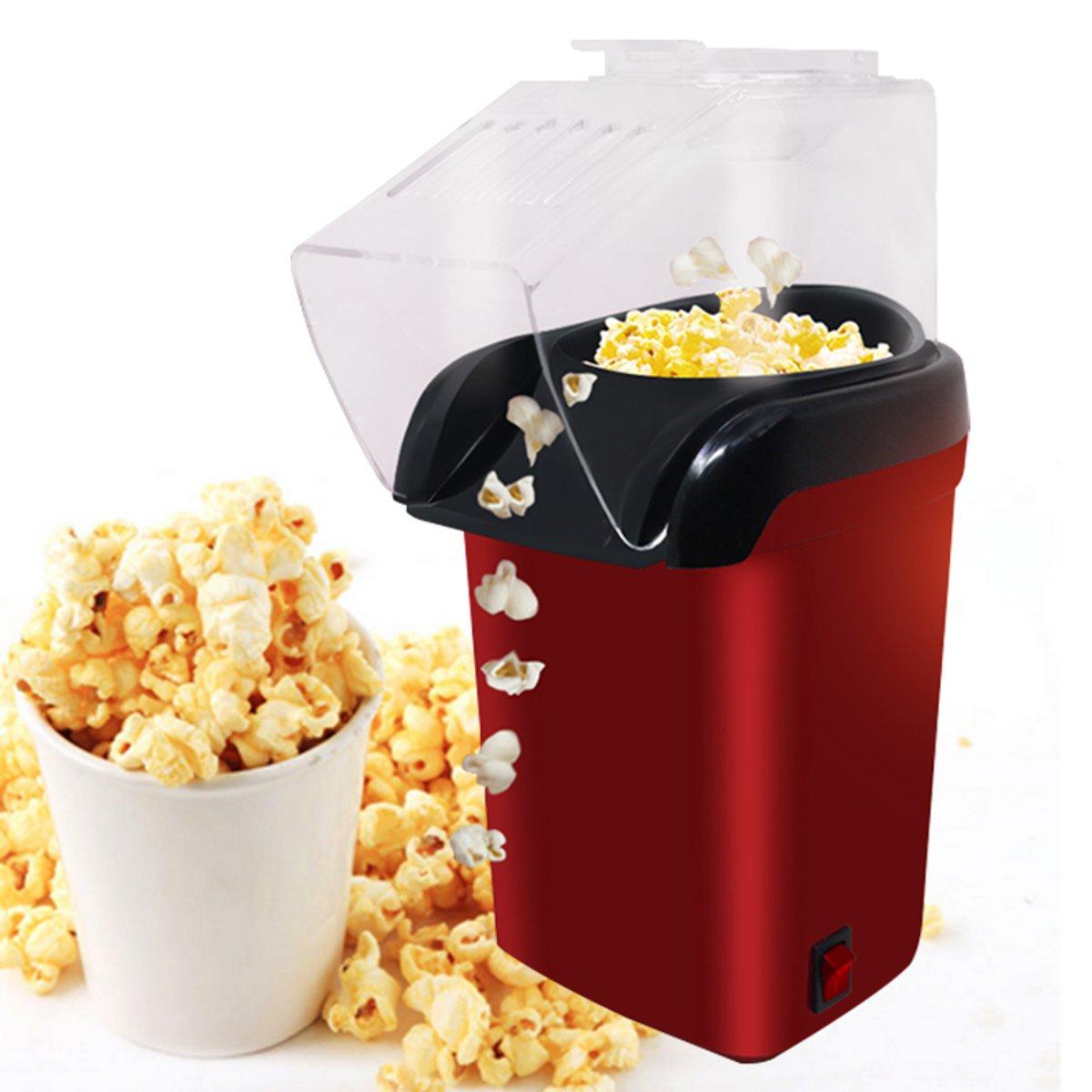 МиниБытоваяЗдоровогоГорячегоВоздухаБез Масла Popcorn Maker Домашняя Кухня Машина Набор