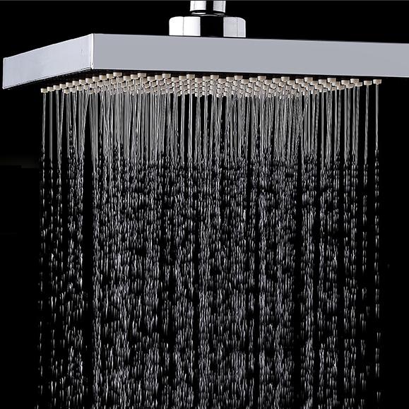 KCASAKC-SH604Верхняяспрей,сгущеннаяпод давлением, вращающаяся панель для ливневой дождевой воды, квадратная верхняя распылите