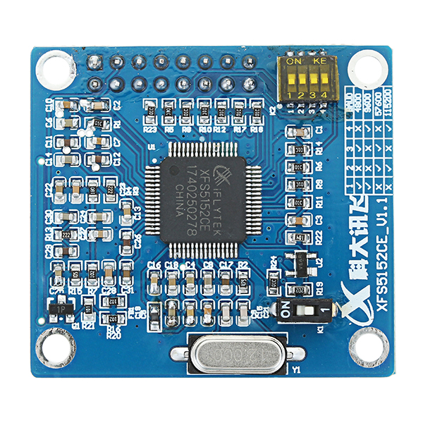 XFS5152CE Speech Synthesis Module TTS Voice Module Support Encode Decode  Realized Chinese English Speech