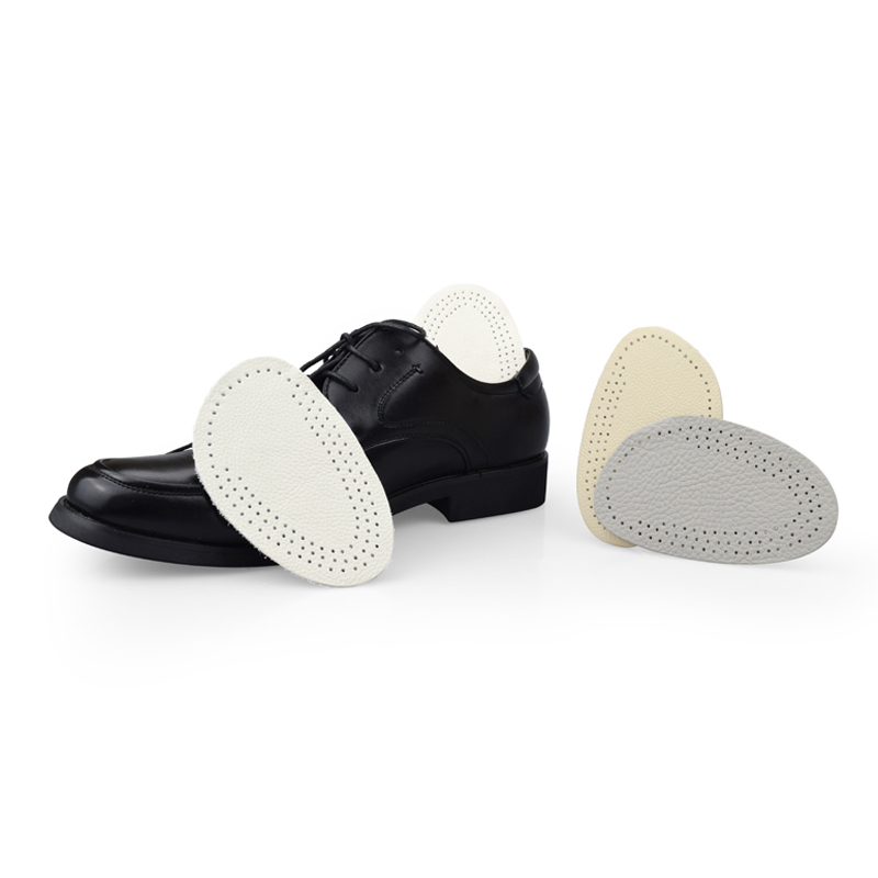 Unisex Antislip Breathable Forefoot Pad Cow Leath
