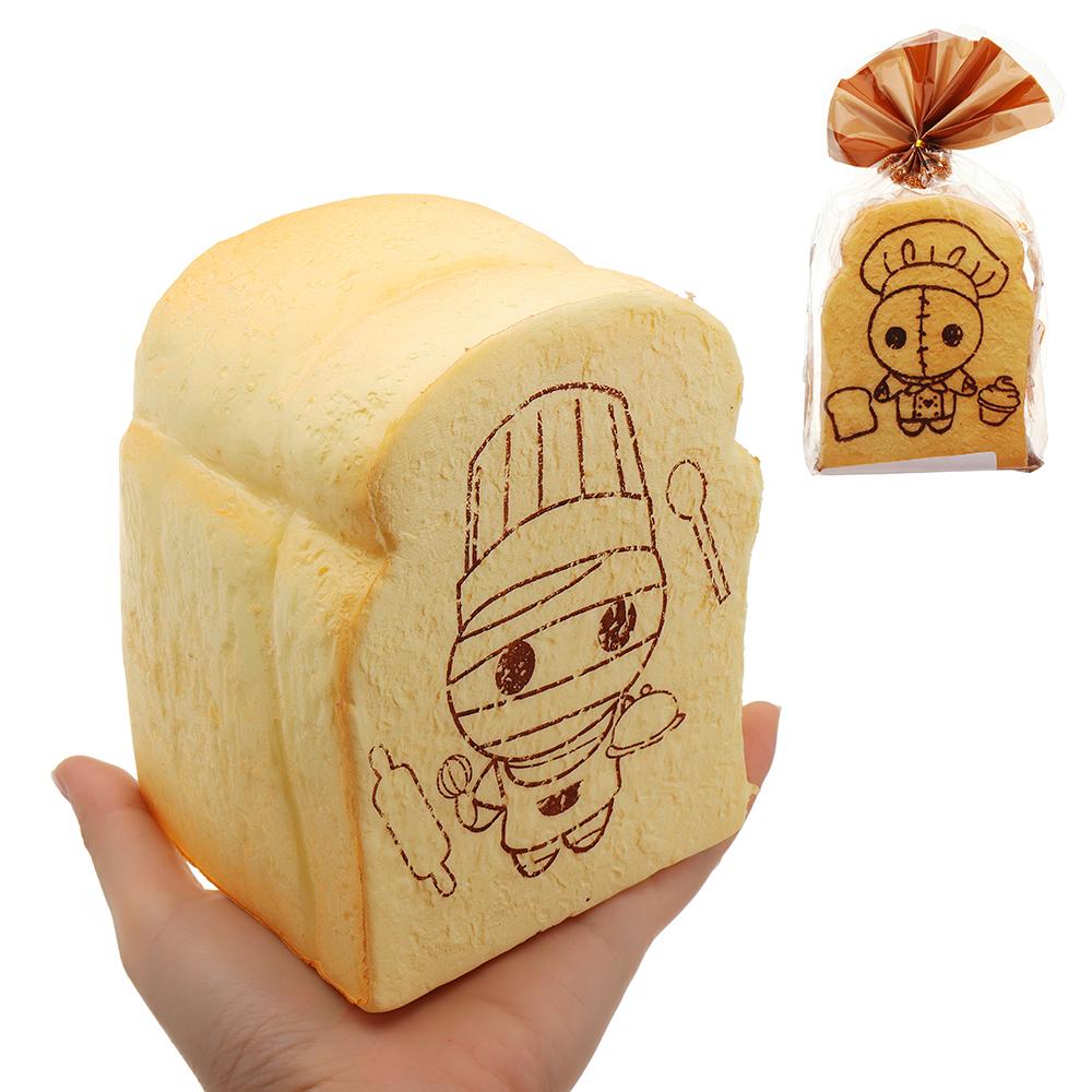 Mummy Chef Sushi Toast Brot Squishy 14cm Langsam Steigen Mit Verpackung Sammlung Geschenk