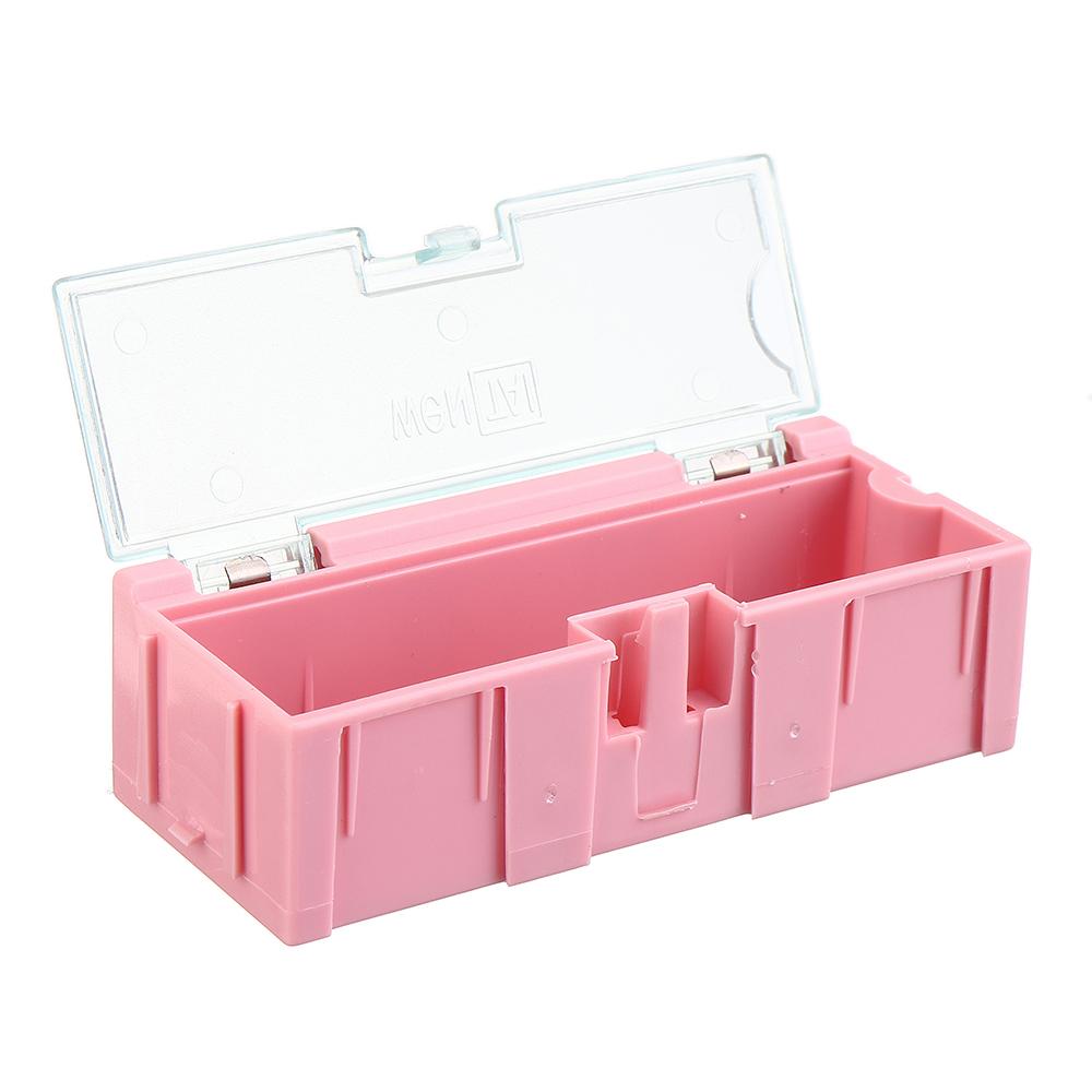 № 2 Небольшие сращиваемые Инструмент Коробка Болт Объект Электронный проект Хранение комплектующих деталей Коробка Чехол SMT SMD выскакивае