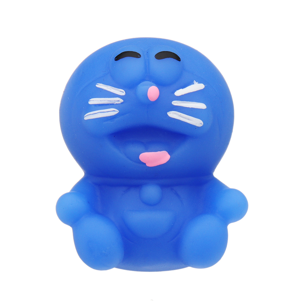 Mochi Squishy Robot Cat Squeeze Cute Healing Toy Kawaii Collection Stress  Reliever Gift Decor