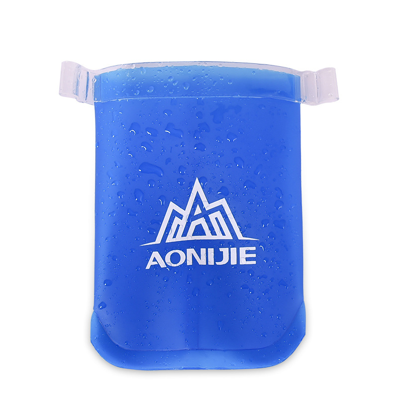AONIJIE 170ML Sports Soft Water Bag Exercise Running Fo