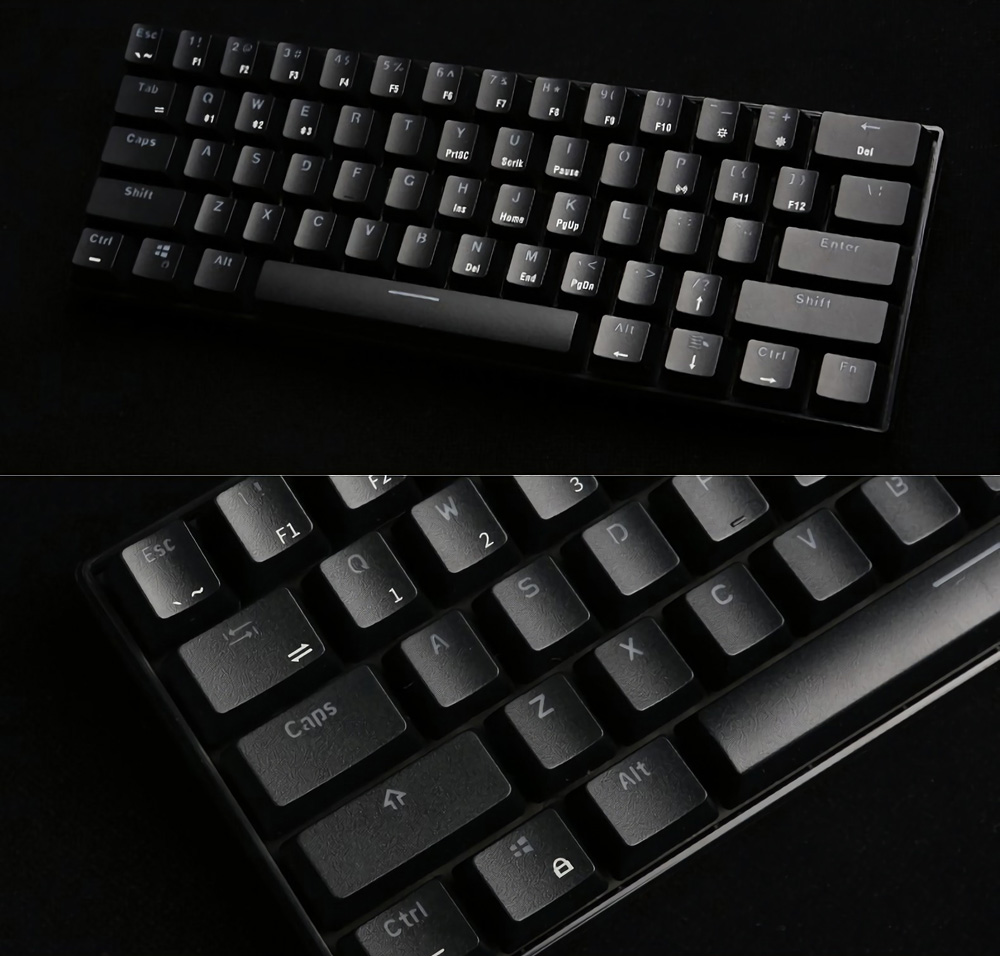 Royal Kludge RK61 Programmable Mechanical Keyboard 9