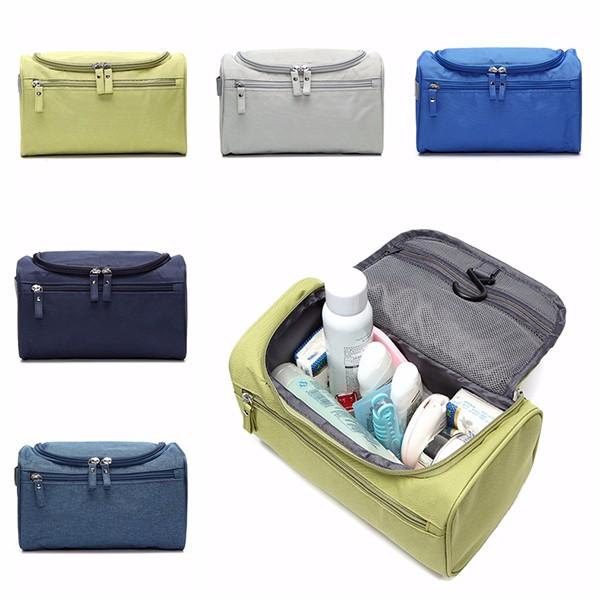Nylon водонепроницаемый портативный легкий путешествия мыть мешок многофункциональный Comestic мешок повесить сумки