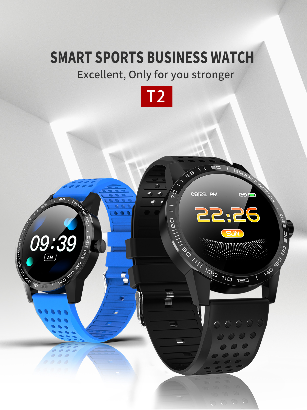 New Grade Life Smartwatch With Large Memory And Long