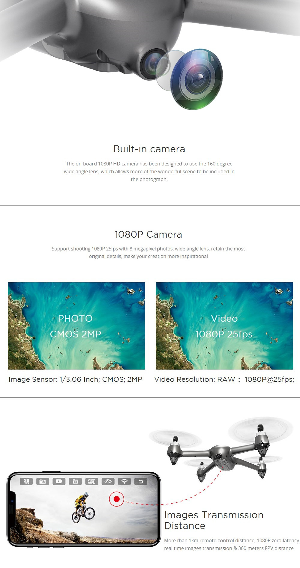 MJX Bugs 2 SE B2SE Brushless 5G WiFi FPV With 1080P HD Camera GPS Altitude  Hold RC Drone Quadcopter
