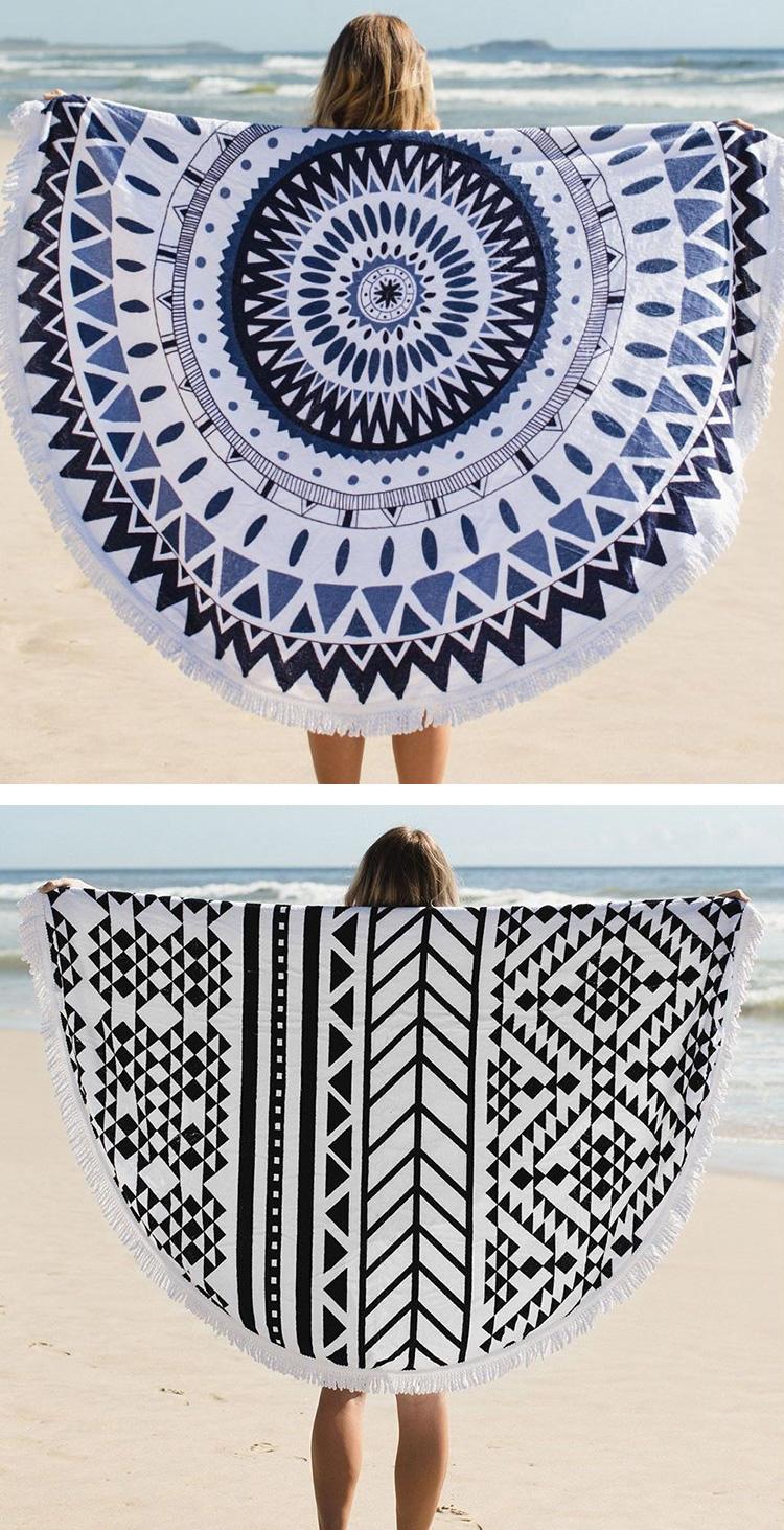 pure cotton bohemia beach towel