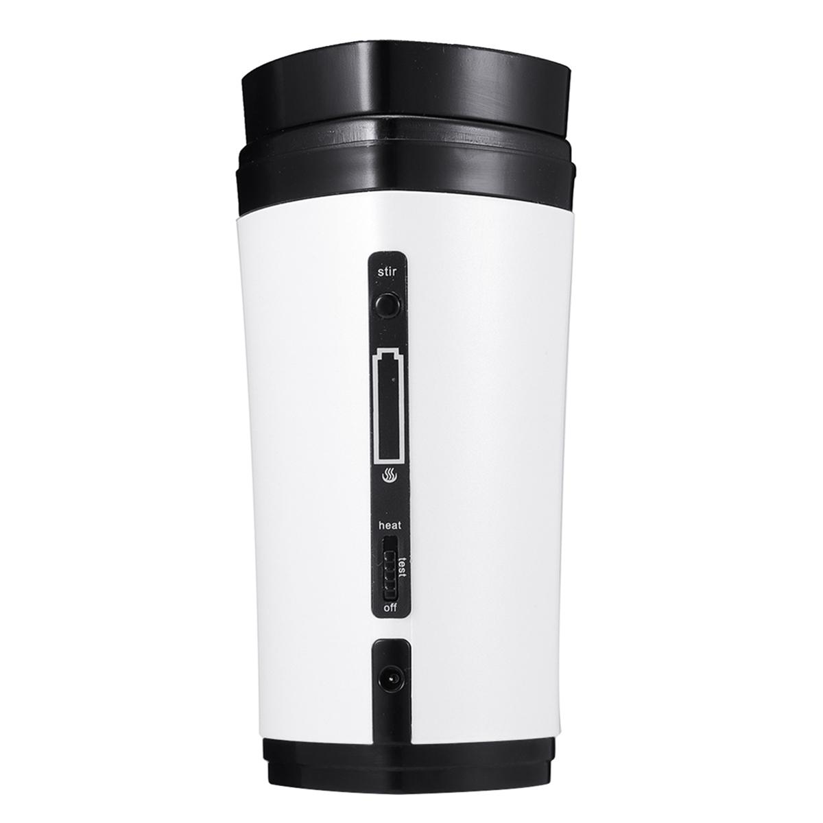USB-чашкадлякофеПерезаряжаемыйнагревSelf Stirring Mixing Mug Warmer Coffee Capsule Cup