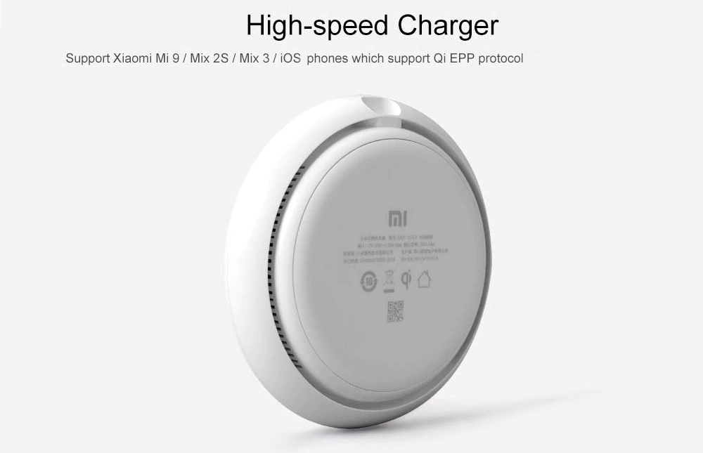 Original Xiaomi 20W Fast Charging Qi Wireless Charger for Samsung Xiaomi Mix 2S Huawei