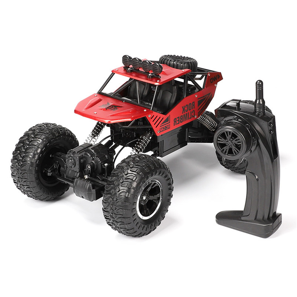 1:12 2.4Ghz Radio 4WD RC Car Rechargeable Remote Control High Speed Off Road Monster Trucks