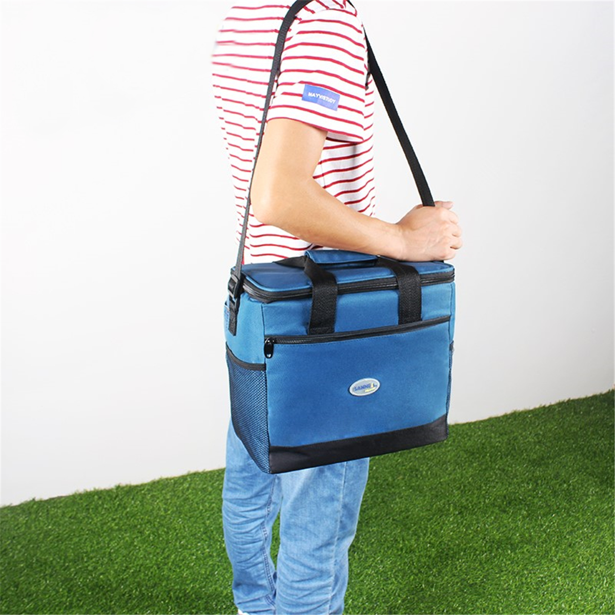 Carry Handbag Waterproof Picnic Case Outdoor About Storage Bag Details Insulated Cooler Lunch H29IEDYW