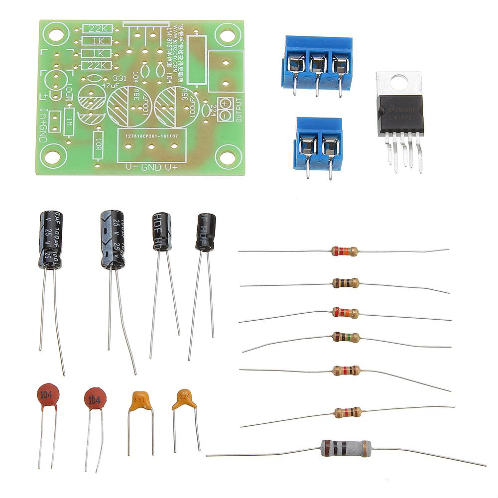 DIY LM1875T Single Channel Fever Grade HIFI P
