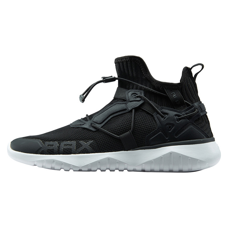 RAX Fly Knit Ultralight Men Sneakers Breathable EVA Shock Absorption Non-slip Memory Insole Sports Running Shoes from xiaomi youpin