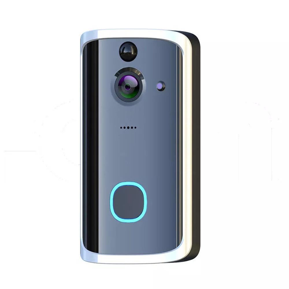 Bakeey M7 720P 166 ° Беспроводной Смарт WI-FI Видеодверь Умный Дом двусторонняя аудиосистема Дистанционный Охранная сигнализация