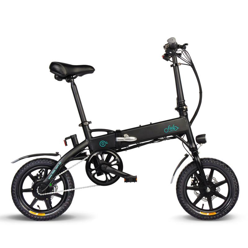 FIIDOD136V250W7.8Ah14 дюймов Складной велосипед мопеда 25 км / ч Макс 60 км Пробег Электрический велосипед