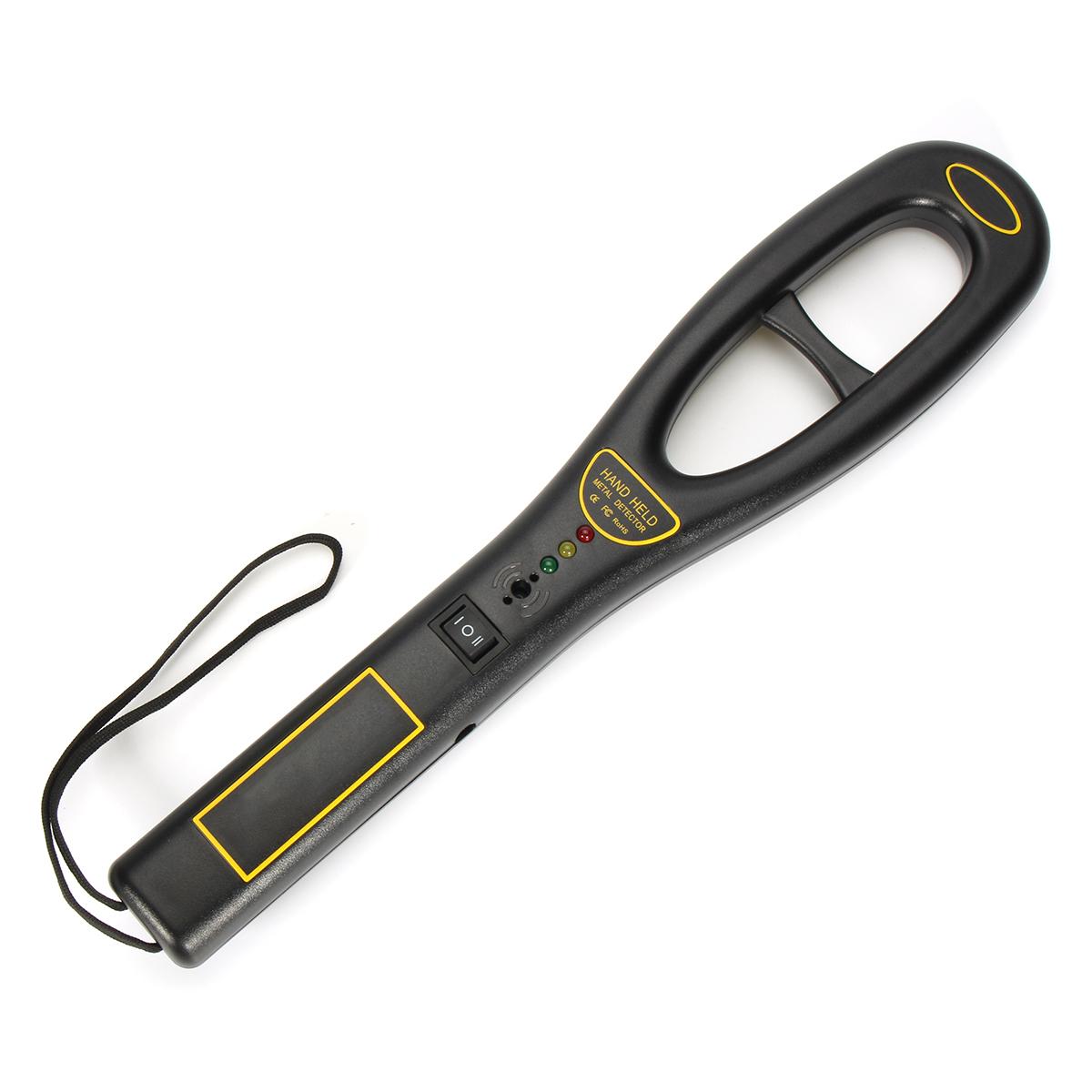 Металлический детектор Handheld Security Палочка Сканер высокой чувствительности