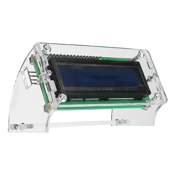 2 x 1602 Character LCD Display Module Blue Backlight