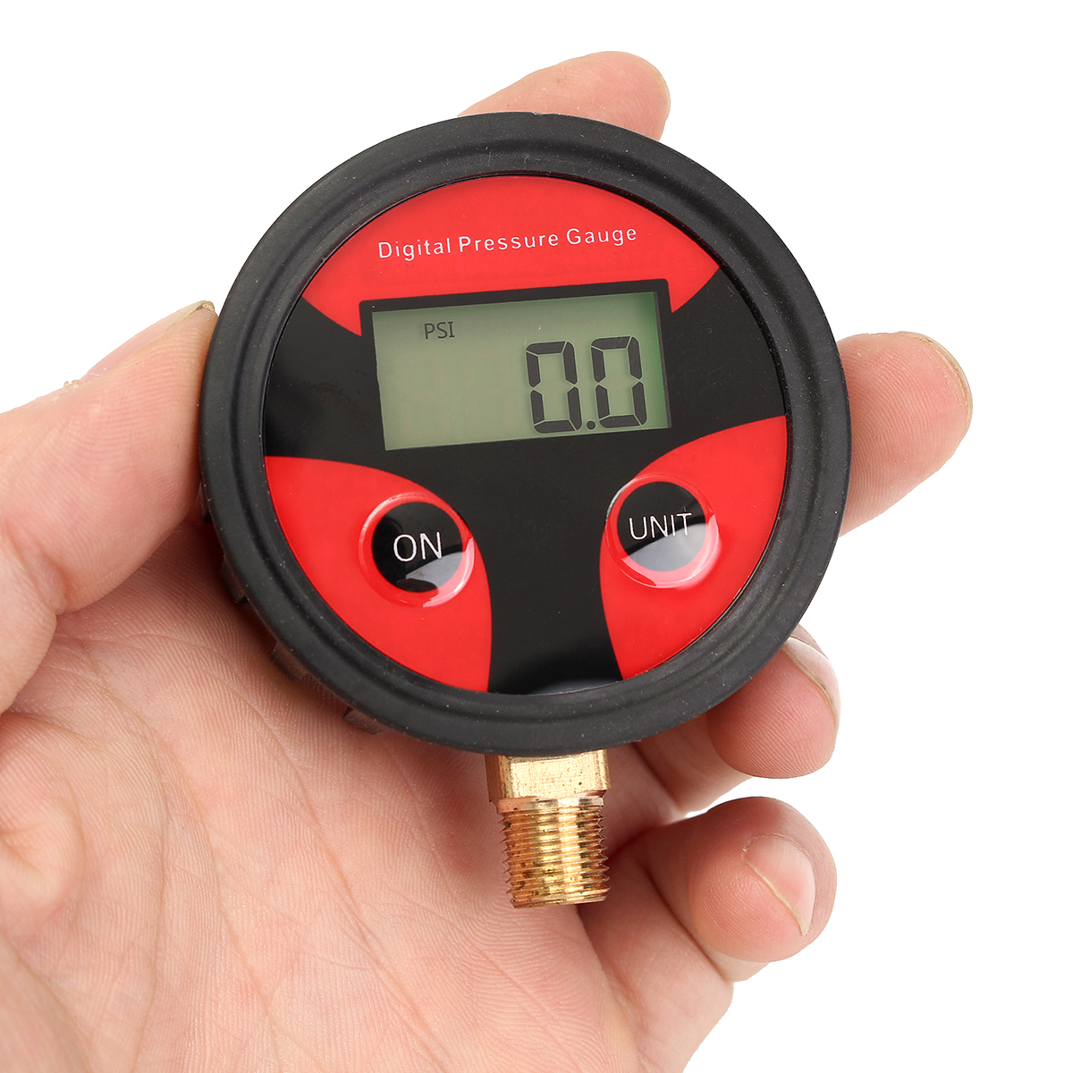 0-200PSI Car Truck Bike Auto Car Tyre Tire Air Pressure Gauge Dial Meter Tester