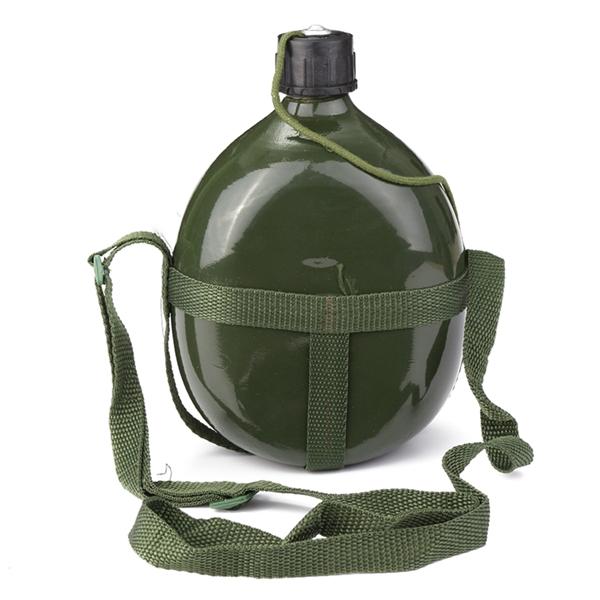 1.5л военная столовая алюминиевая езда на велосипеде велосипед бутылку воды чашки военный