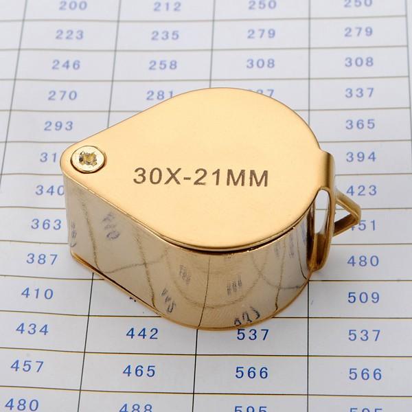 New 30*21mm Jewelers Loupe