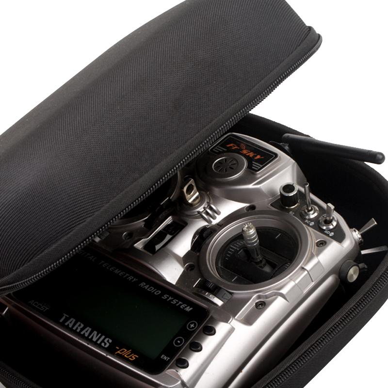 PATTERN GRID RC Remote Control Transmitter Bag for FUTABA T14SG T8FG JR Frsky T