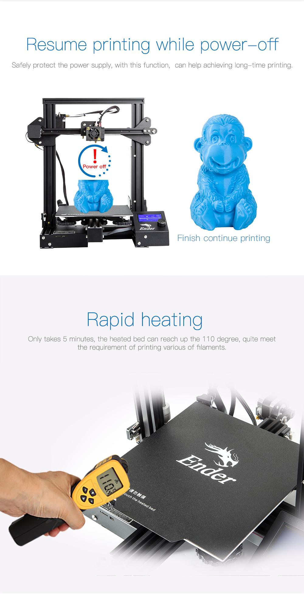 Creality 3D® Ender-3 Pro DIY 3D Printer Kit 5