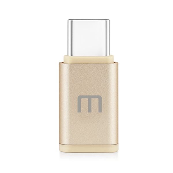 Original MEIZU USB Type-C Male to Micro USB Female Adapter for Mobile Phone