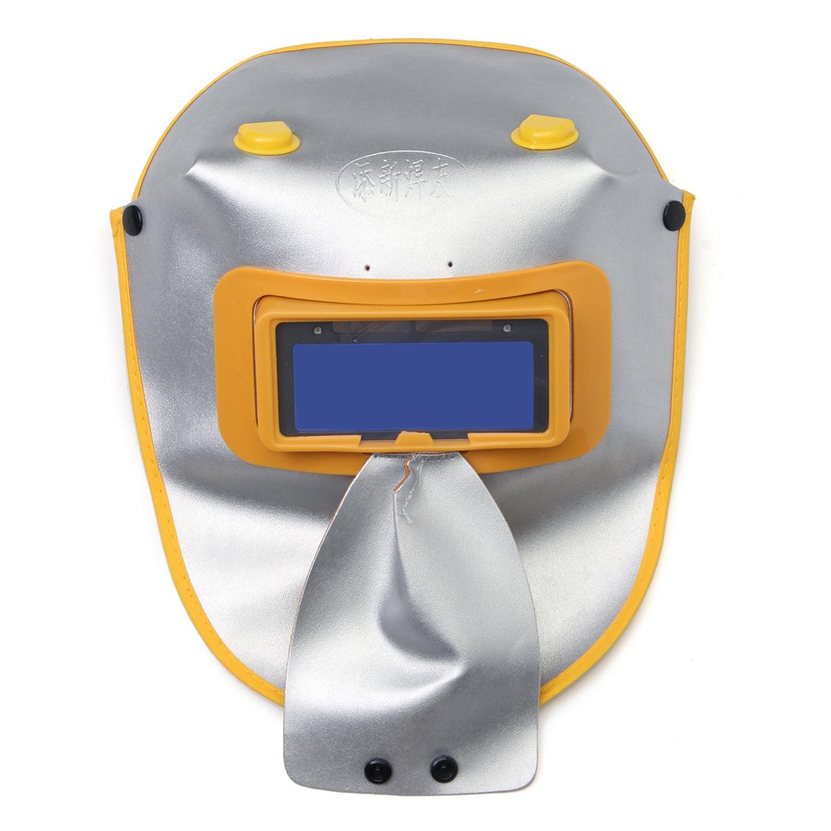 Solar Powered Auto-Darkening Welding Helmet Grinding TIG Welding Mask