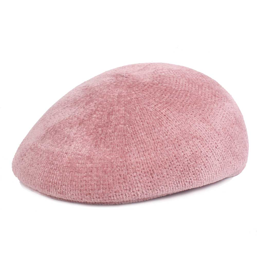 Middle-aged Women Winter Corduroy Thicken Knit Beret Caps