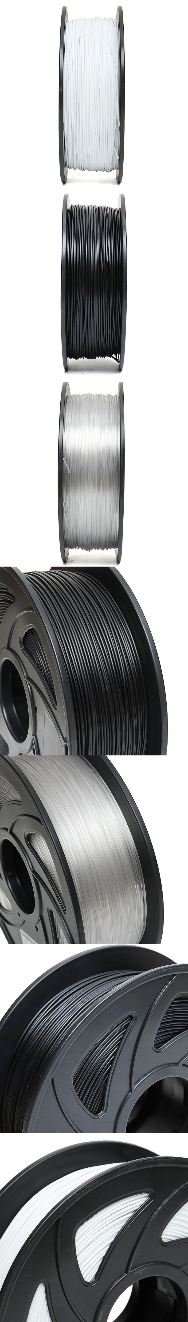 1KG 1.75mm PETG Filament Black White or Nude Color New Filament for 3D Printer 23