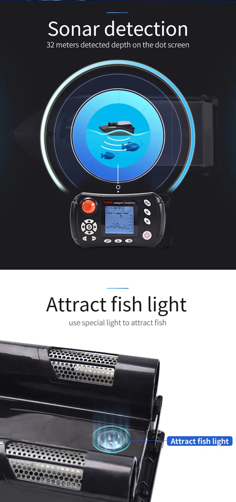 ZANLURE Auto Return Fishing Bait Boat Autopilot 2 4G GPS Carp Fishing  Feeder With Metal Propeller Guard