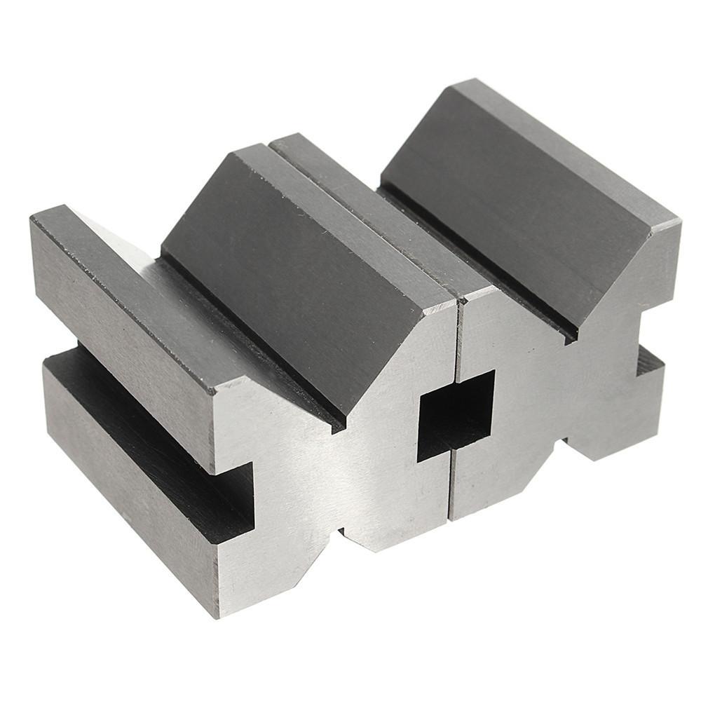 V Block Clamp Set V Block Matched Pair 7/16 to 13/16 90 Degree Precision Machine
