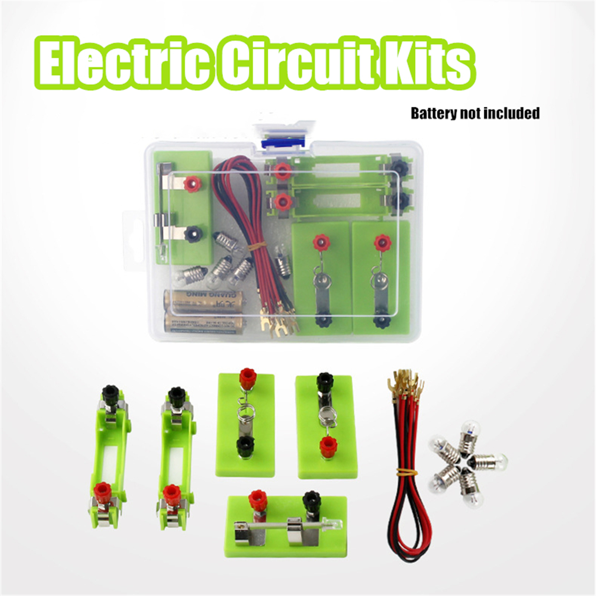 Funny Electric Circuit Kits Children School Science Toy Montessori Learning  Physical Experiment Mode