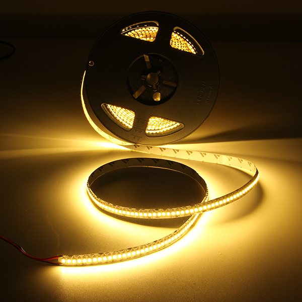 5M High Brightness SMD3528 1200 LED Flexible Strip Light Rope Tape Lamp For Home Party Decor DC12V