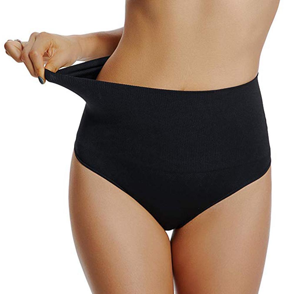 Mid Waist Tummy Control Shaping Panties