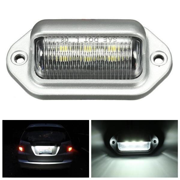 LED Фонарь освещения номерного знака интерьер шаг любезности лампа для автомобиля грузовик прицеп