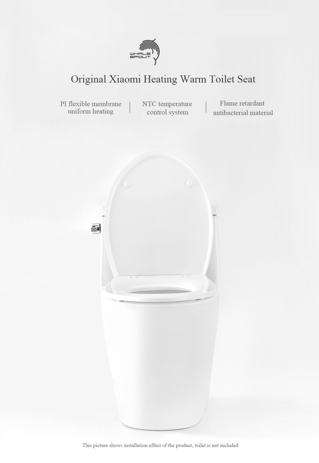 Awesome Heating Warm Electric Toilet Seat Covers For Closestool Ntc Temperature Control System From Xiaomi Youpin Gmtry Best Dining Table And Chair Ideas Images Gmtryco