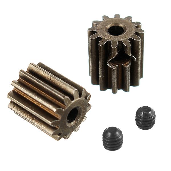 HBX 12891 1/12 Мотор Зубчатые шестерни 12T + Установочные винты 3 * 3 мм (2P) -Врущенные элементы 12060 RC Авто