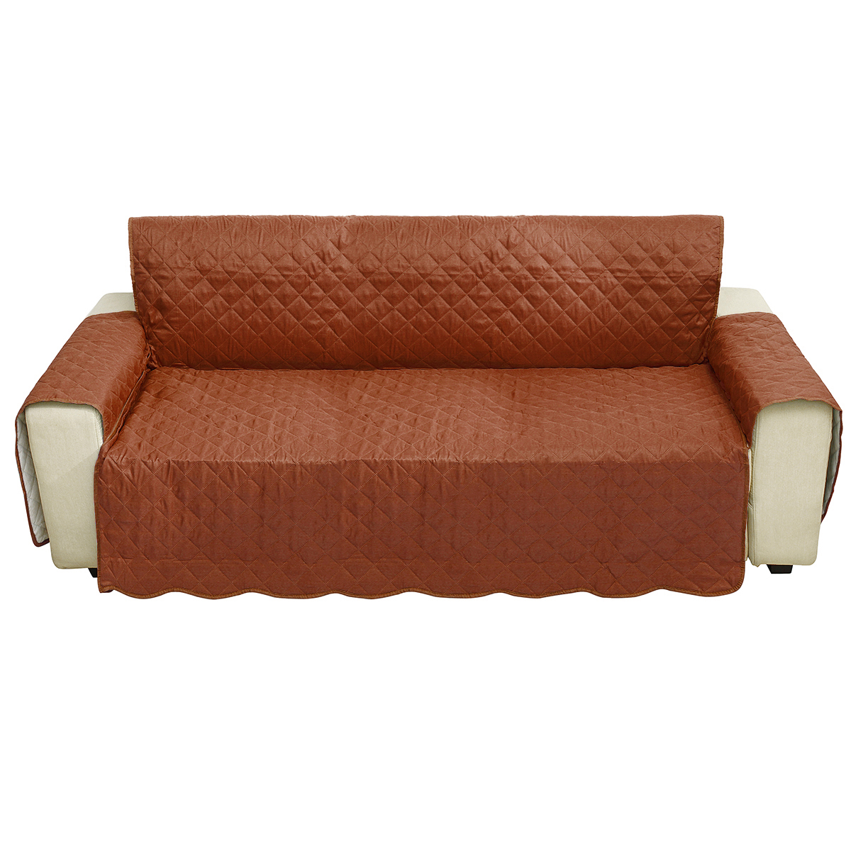 3 Seater Seats Sofa Chair Cover Living Room Home Decoration Polyester Fashion Dust-proof