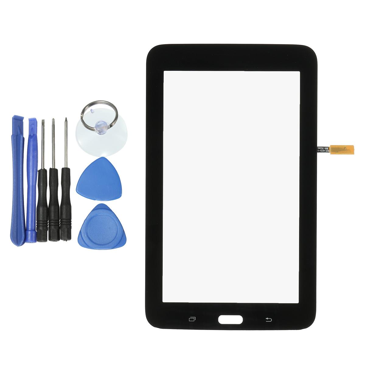 Замена сенсорного экрана LCD Ремонт панели цифрового планшета Инструмент Для Samsung Galaxy Tab 3 Lite 7.0 T110 WiFi