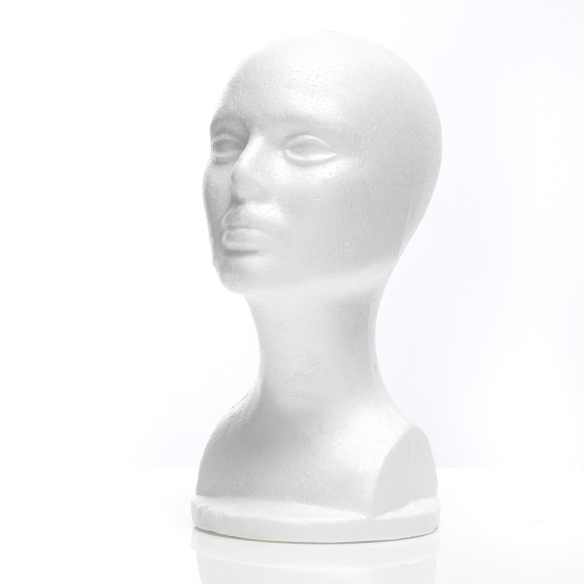 Пенопластовая головка из пенопласта, манекен, модель Очки Шапка Парик Дисплей Стенд