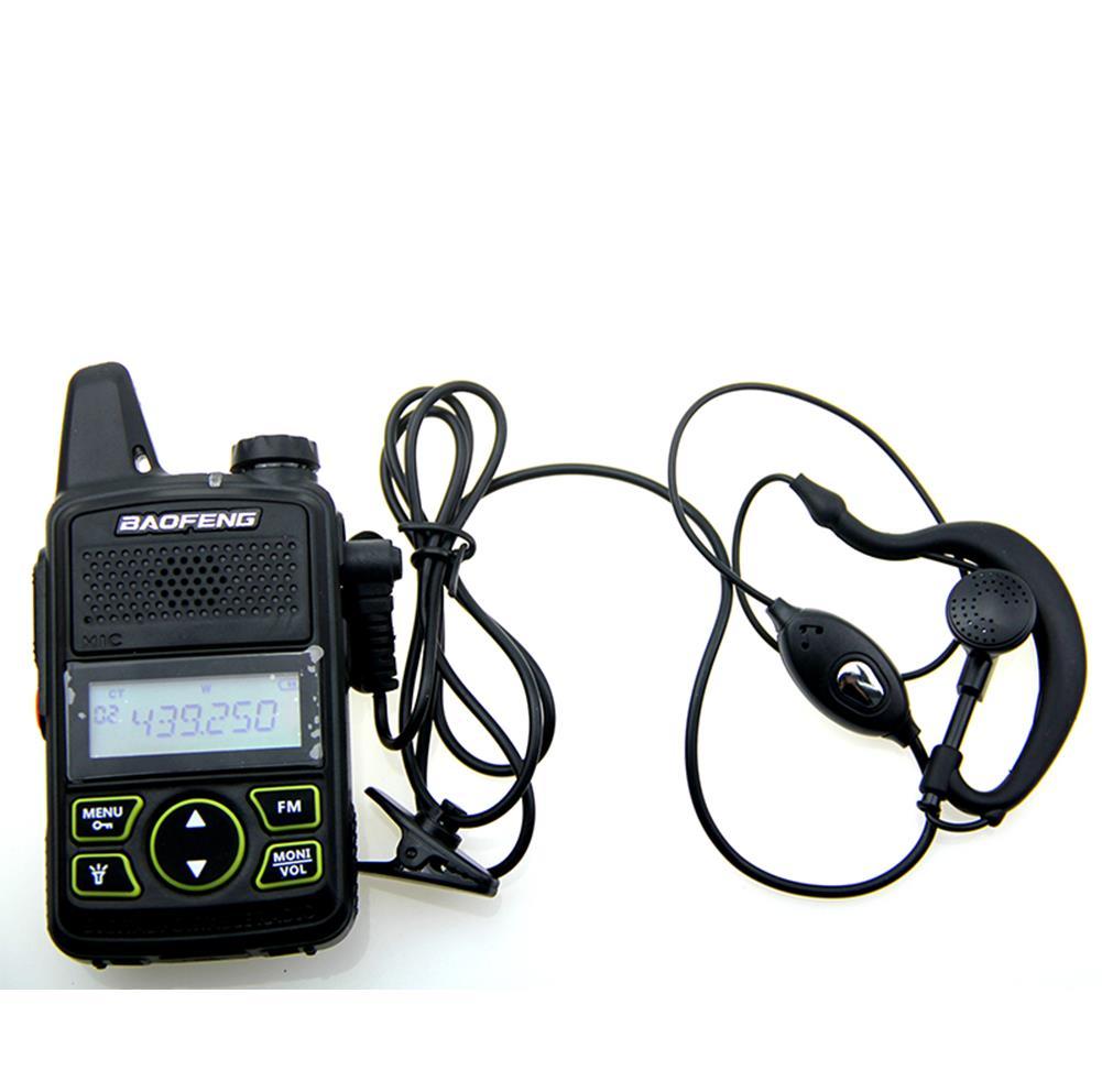 1 Walkie Talkie Headset Earphone Line Single Y Head For Baofeng T1 UV-3R U8 U3
