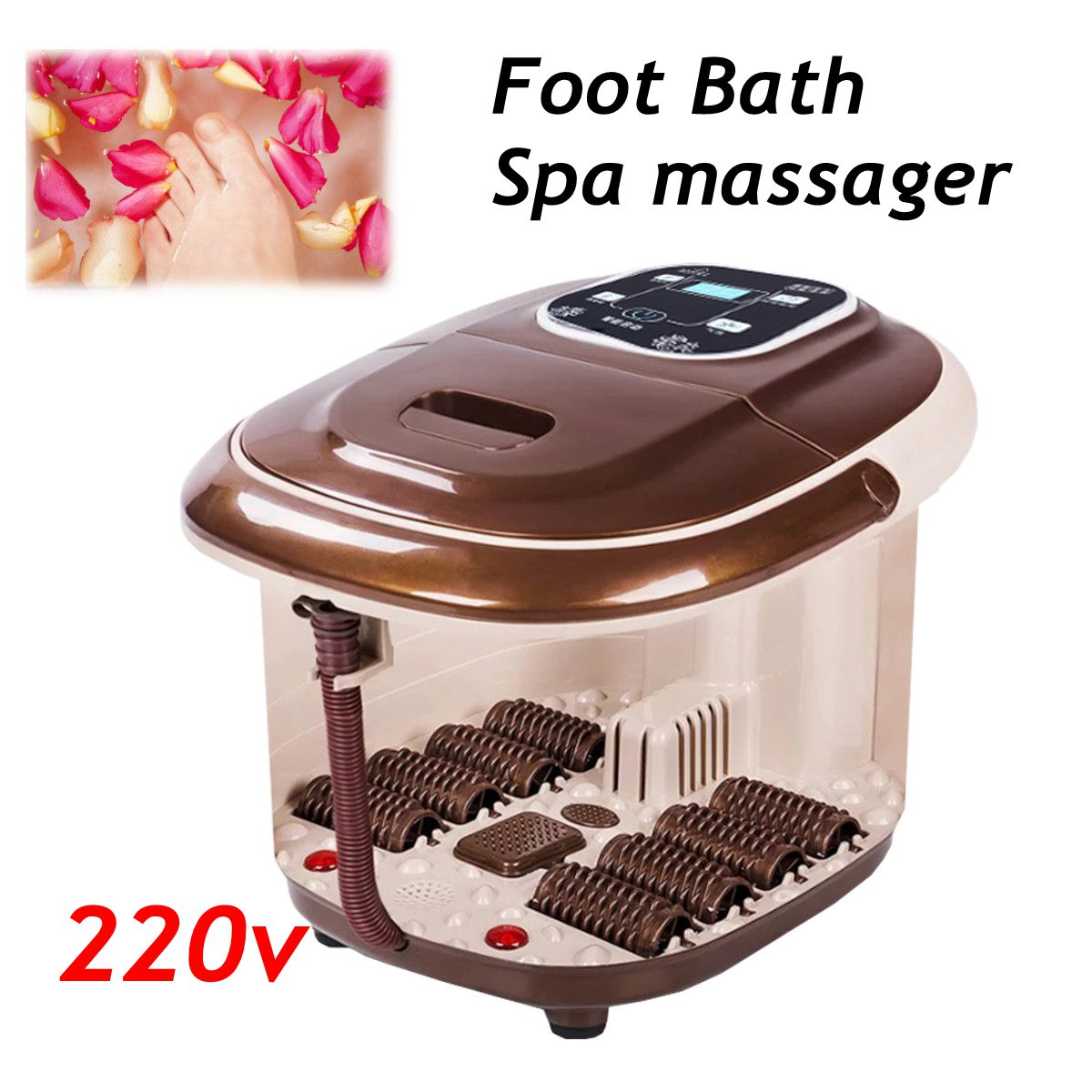 Foot Bath Spa Infrared Therapy Massager Flame Retardant