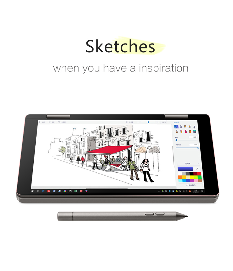 ONE-NETBOOK One Mix 2s Platinum Edition i7-8500Y 4.2GHz 8GB RAM 512GB PCI-E SSD 7 Windows 10 Tablet