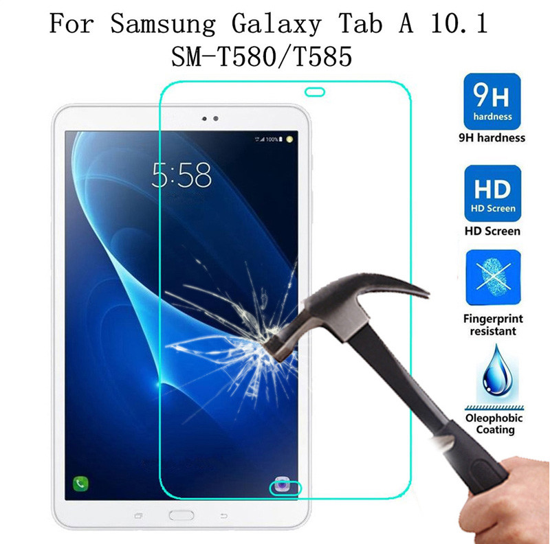 Tempered Glass Film Screen Protector For Samsung Galaxy Tab A 10 1 SM-T580  T585