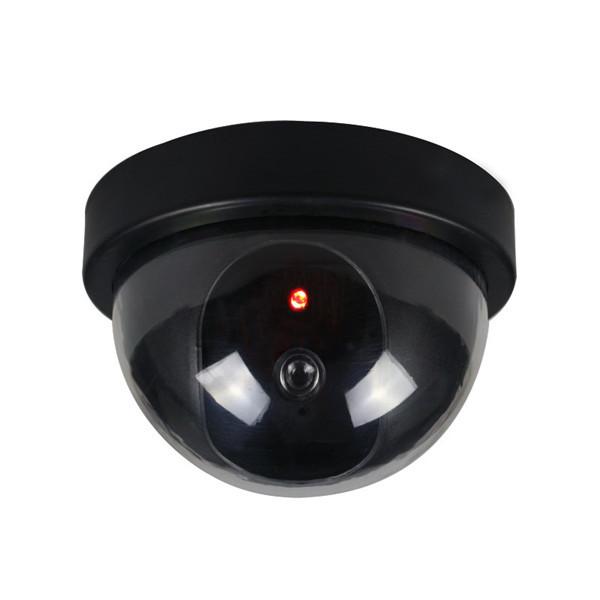 BQ-01 купол поддельные напольная камера муляж камеры видеонаблюдения моделирование красный LED мигающий свет